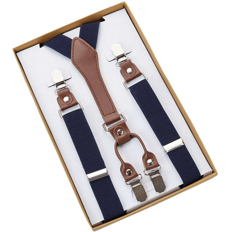 SUSPENDERS | NAVY BLUE