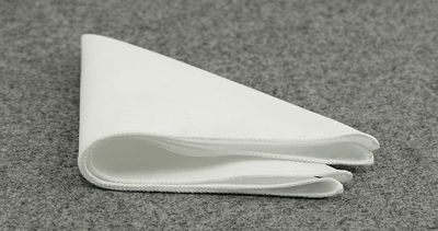 POCKET SQUARE | WHITE | COTTON