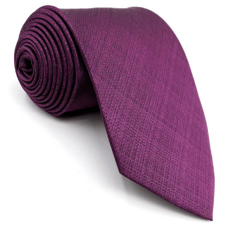 TIE | LIGHT PURPLE SOLID | SILK