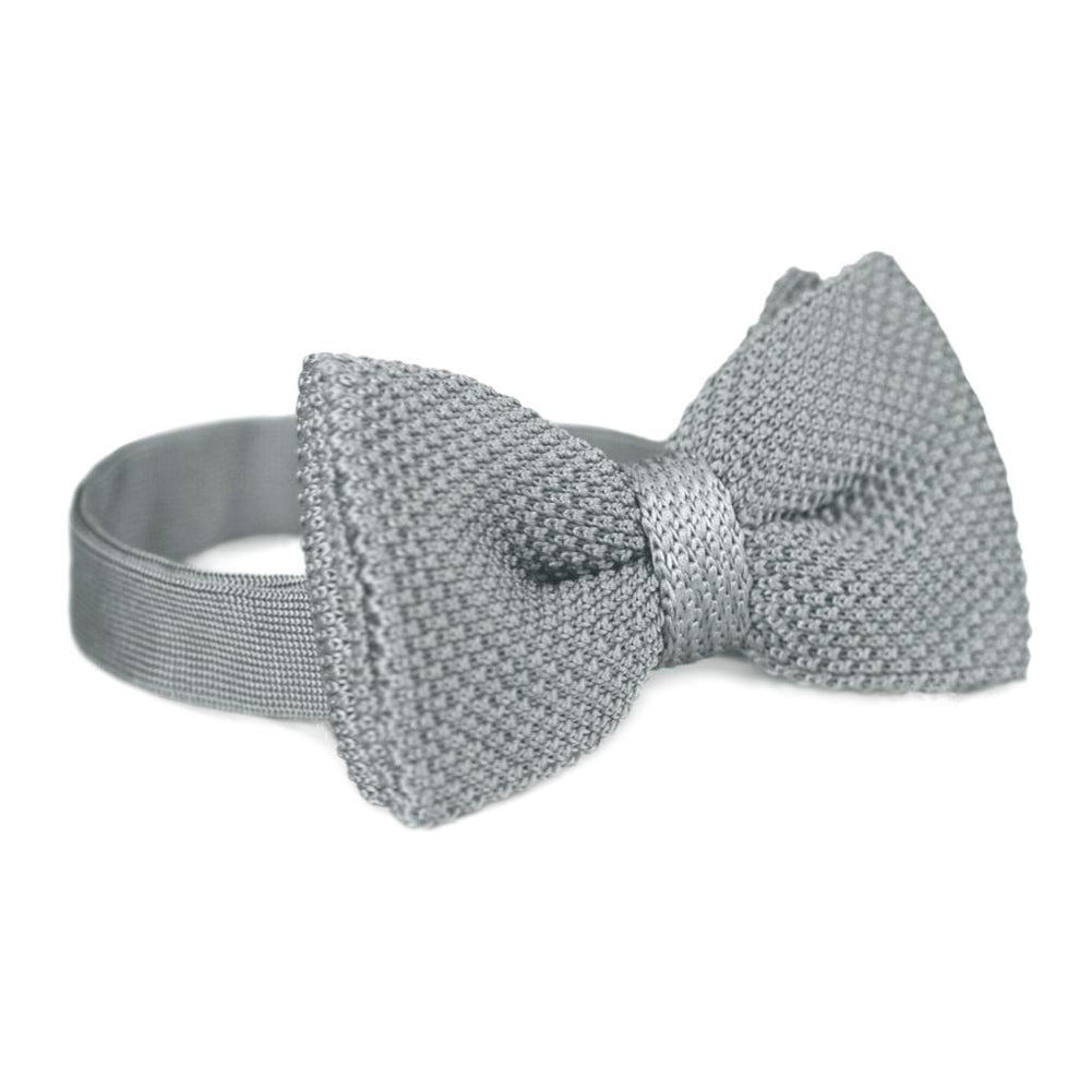 BOW TIE | GREY KNITED | WOOL