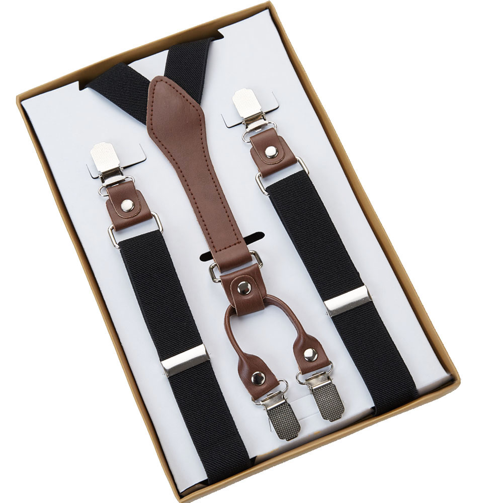 SUSPENDERS | BLACK