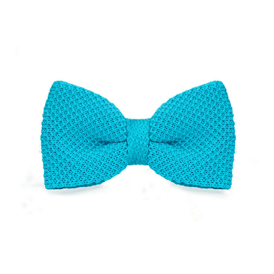 BOW TIE | LAKE BLUE KNITED | WOOL