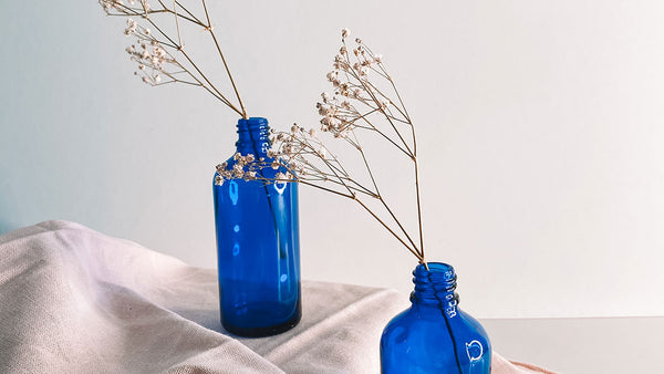 Four Ways to Reuse Tailor Blue Glass