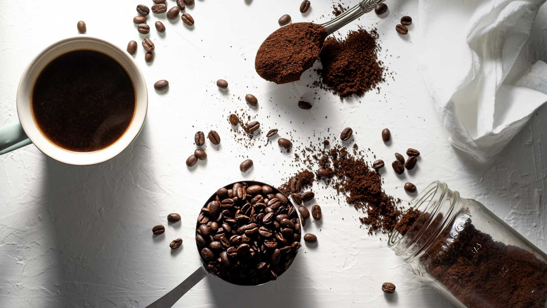 Coffee extract for skincare