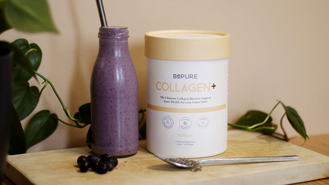 Delicious Healthy Collagen Boosting Smoothie For Glowing Skin