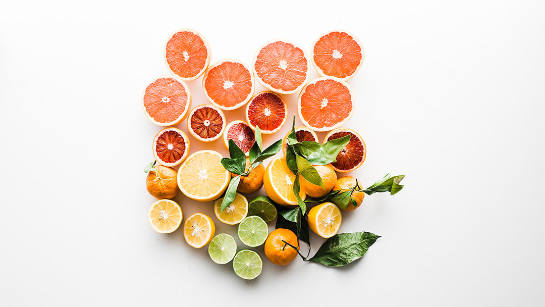 Nutritious citrus fruits for healthy skin