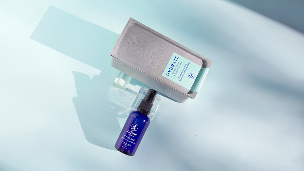 Tailor Skincare niacinamide and hyaluronic hydrate serum