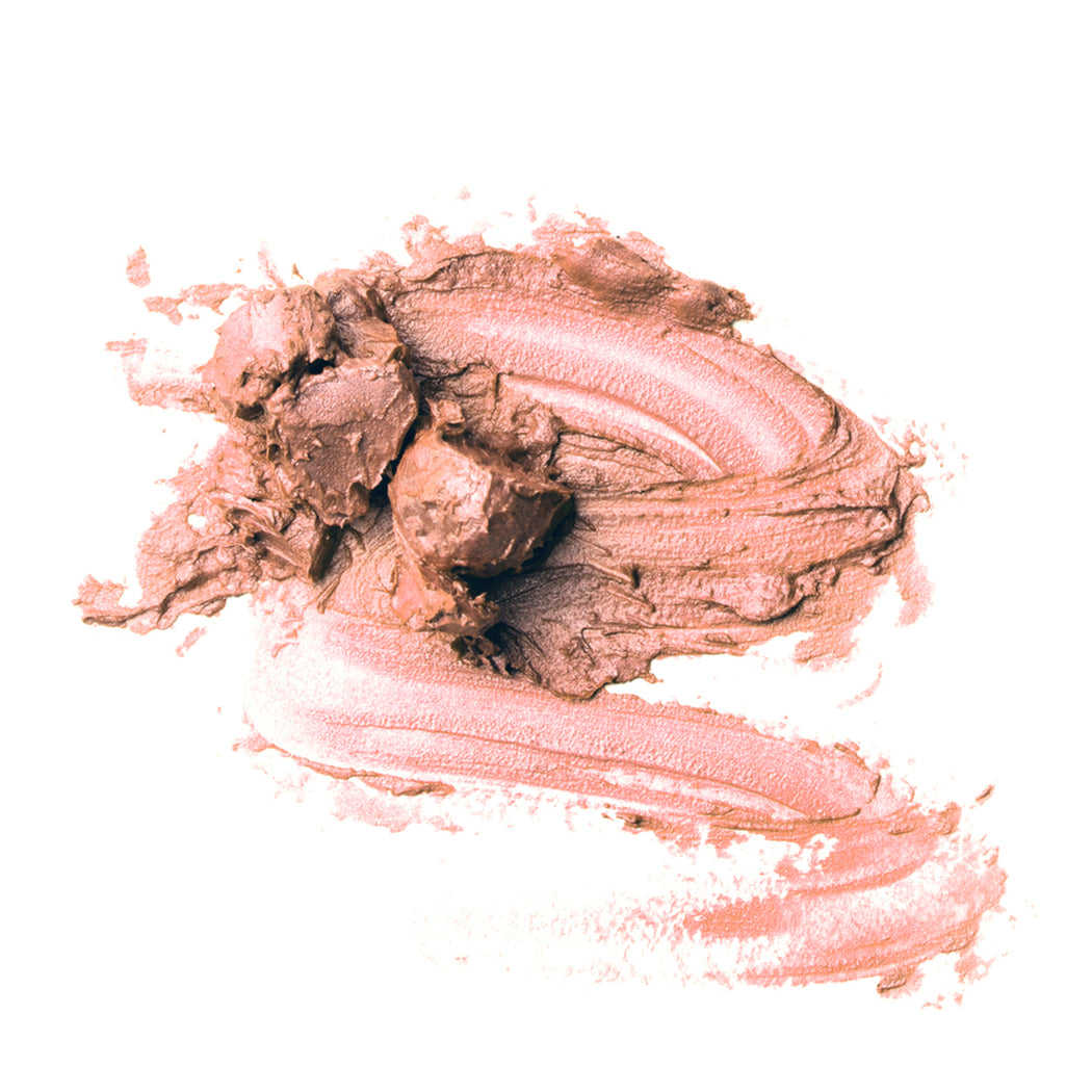 Natural, cruelty free, vegan, NZ made cosmetic makeup for highlighting.  Swatch  image.