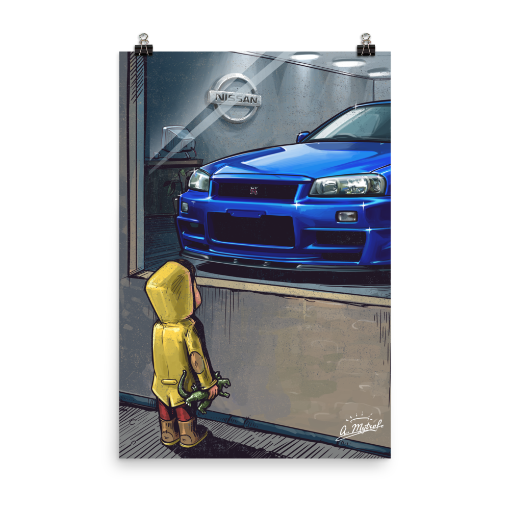 Daydreaming R34 Poster