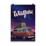 Stargazing - T2 Wesfalia - Poster