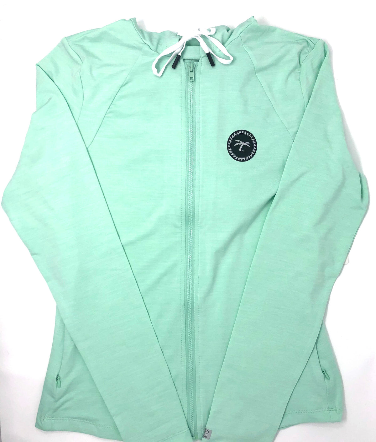 Zip-up Performance Hoodie Mint