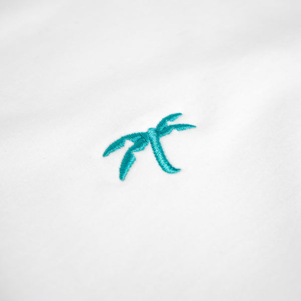 Yolo T white-teal - Trapical