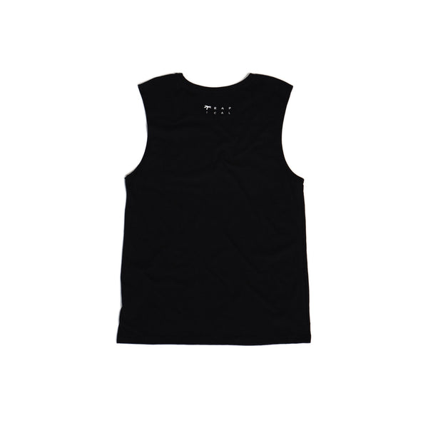Men's Muscle black - Trapical