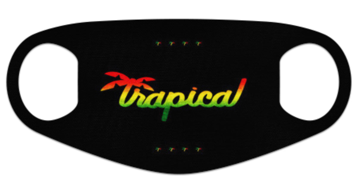 Kids Neoprene™️ Facemask Rasta
