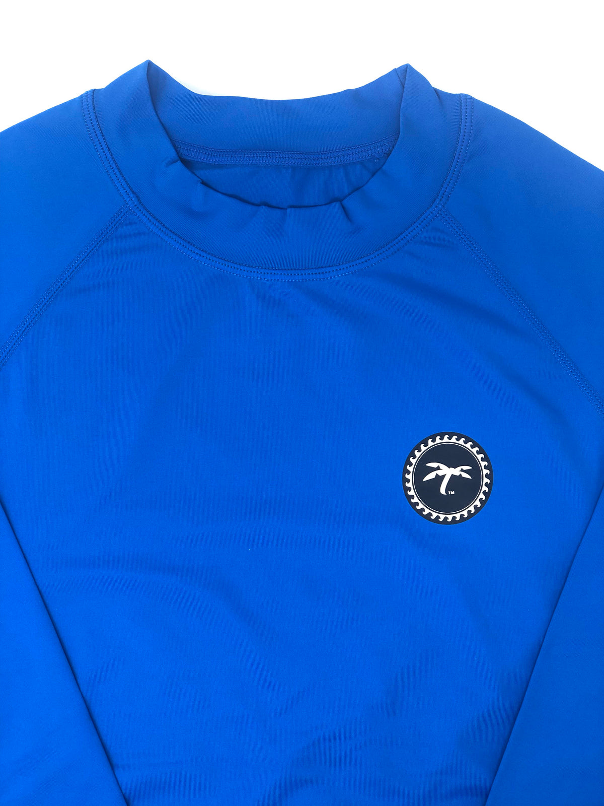 Rash-guard L/S blue