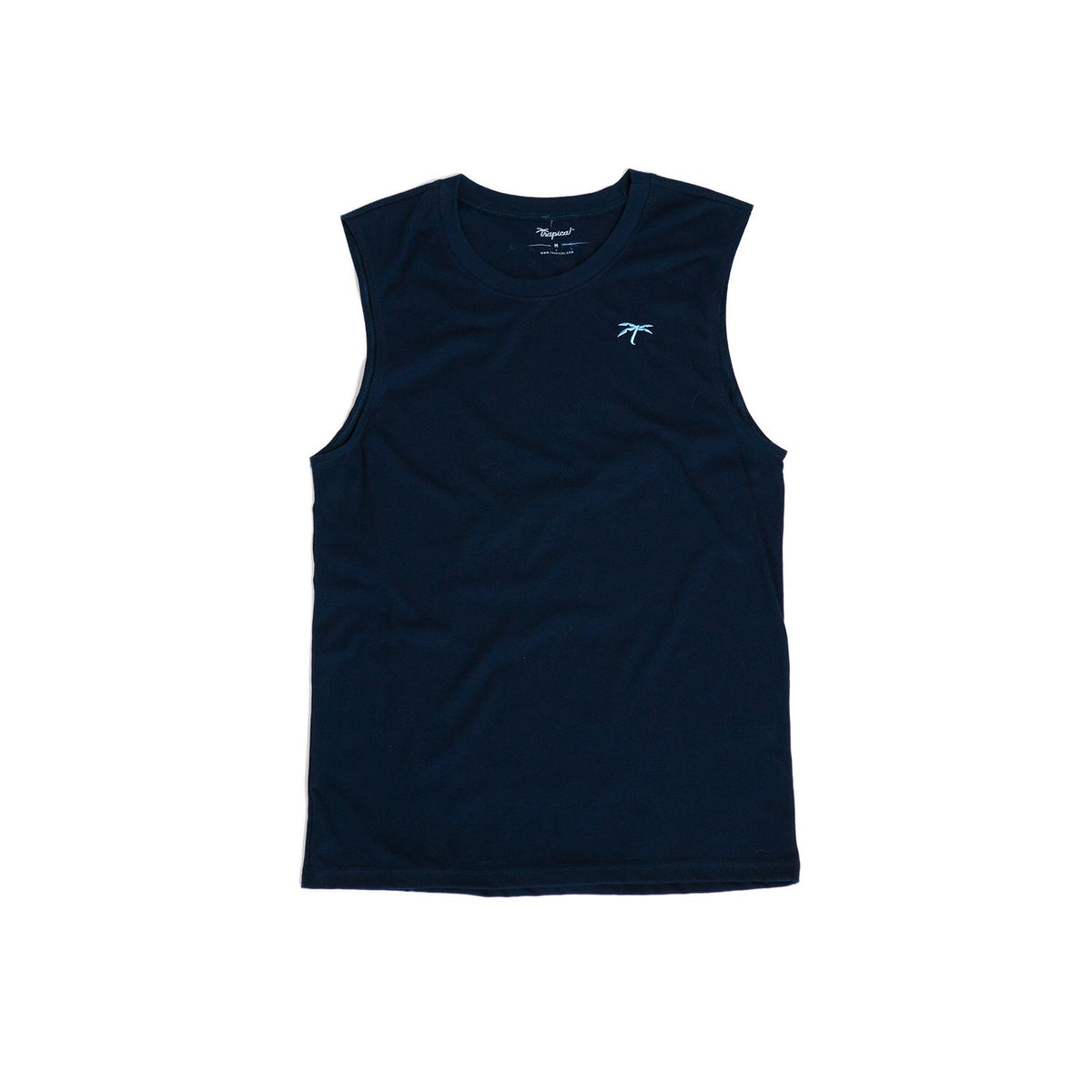 Men's Muscle blue - Trapical