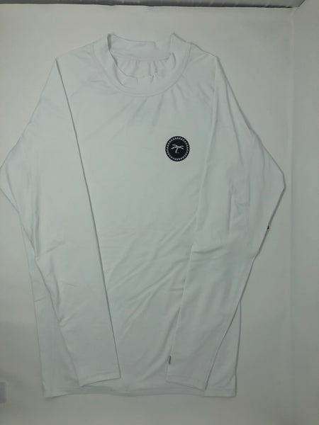 Rash-guard L/S white