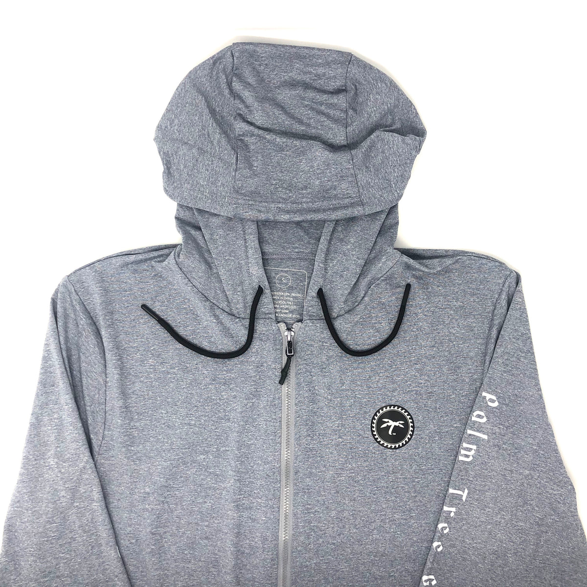 Zip-up Performance Hoodie gray