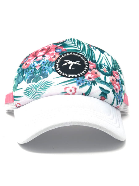 Trucker flowers summer