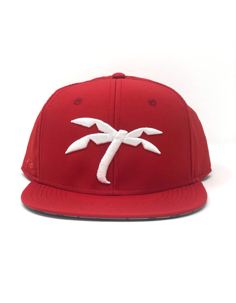 Red Palm Tree snapback
