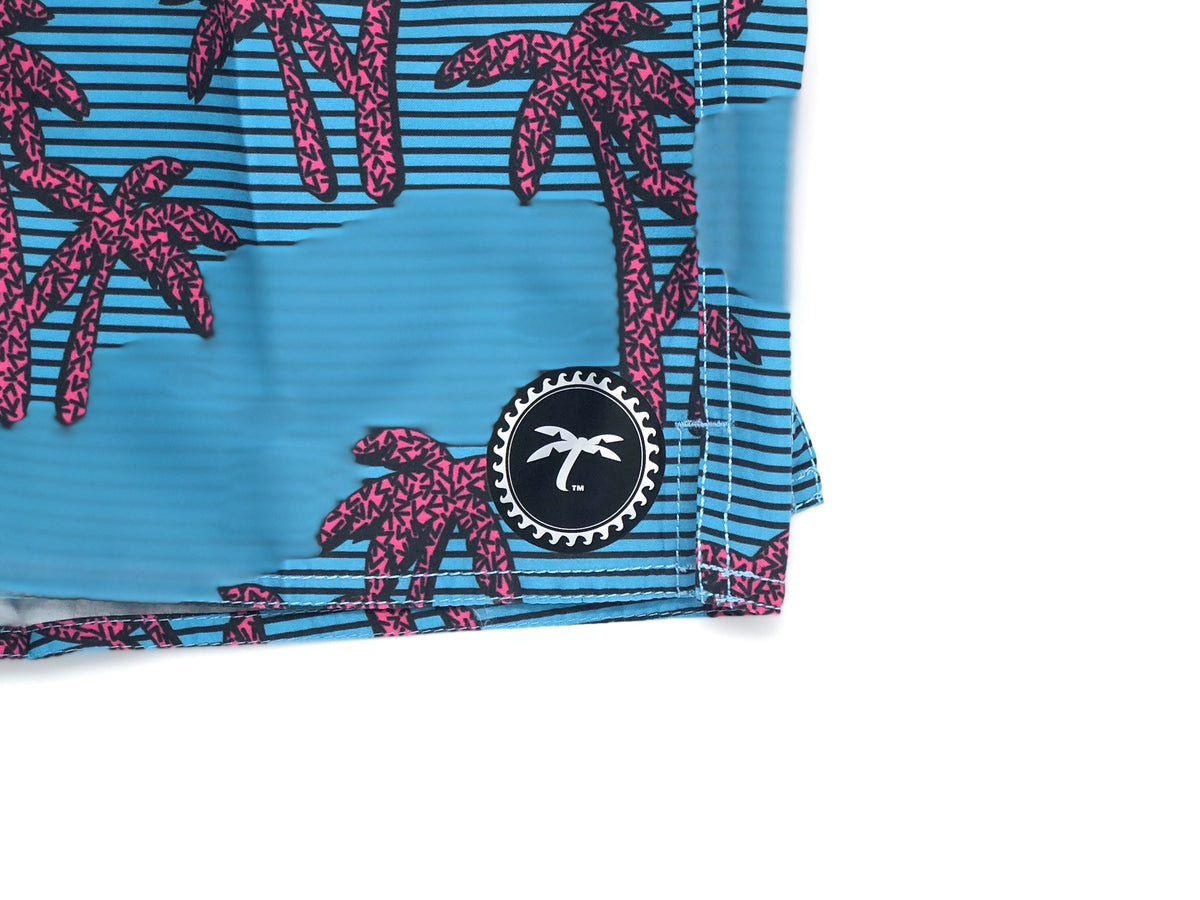 Swim Trunks Palm Trees