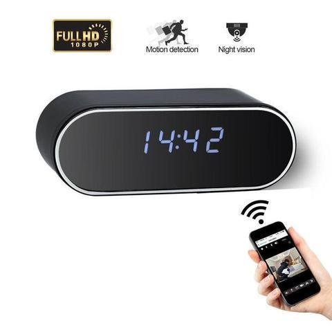 Spy Hidden Camera Clock