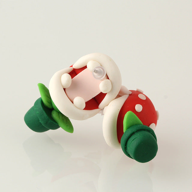 Piranha Plant Earring | Perfect Christmas Gift