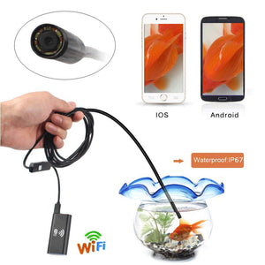 WaterProof WIFI Endoscope Camera (ANDROID/IPHONE/PC)