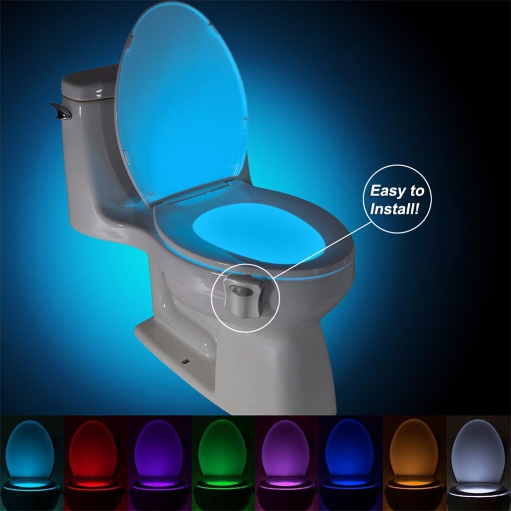 Toilet Bowl Night light LED sensor