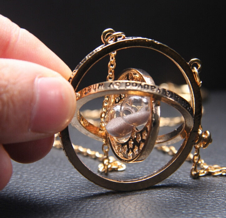 Harry Potter Time-Turner Pendant Necklace