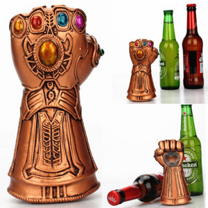 Infinity Thanos Gauntlet Glove Beer Bottle Opener