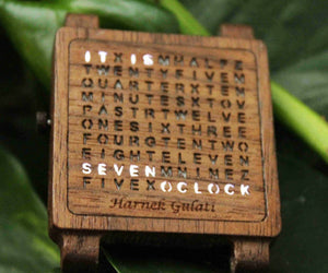 Wooden Word Watch