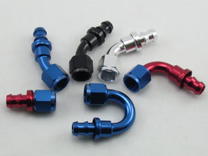 140 SERIES STRAIGHT PUSH-LOCK HOSE END
