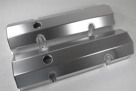 1500 SERIES VALVE COVERS FABRICATED ALUMINUM - CHEV SB
