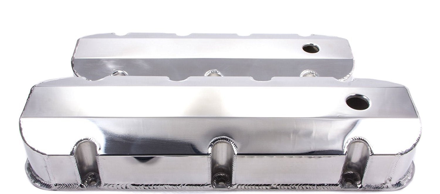 1520 SERIES VALVE COVERS FABRICATED ALUMINUM - CHEV BB