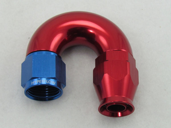 177 SERIES MEGAFLOW 180° TEFLON PTFE SWIVEL HOSE END