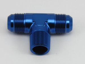 506 SERIES FLARE TEE AN to NPT ON SIDE ADAPTER