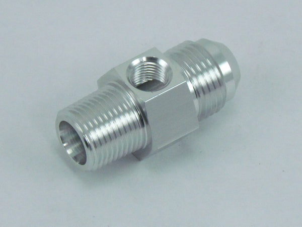 529 SERIES AN MALE to NPT ADAPTERS 1/8 GAUGE PORT