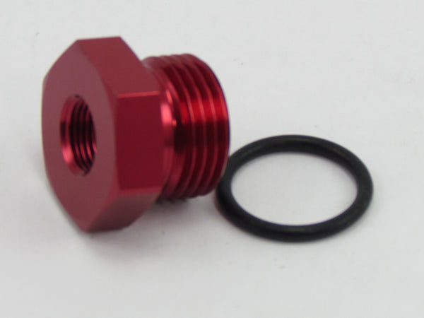 631 SERIES AN FLARE PLUG ORB  to NPT PORT ADAPTER