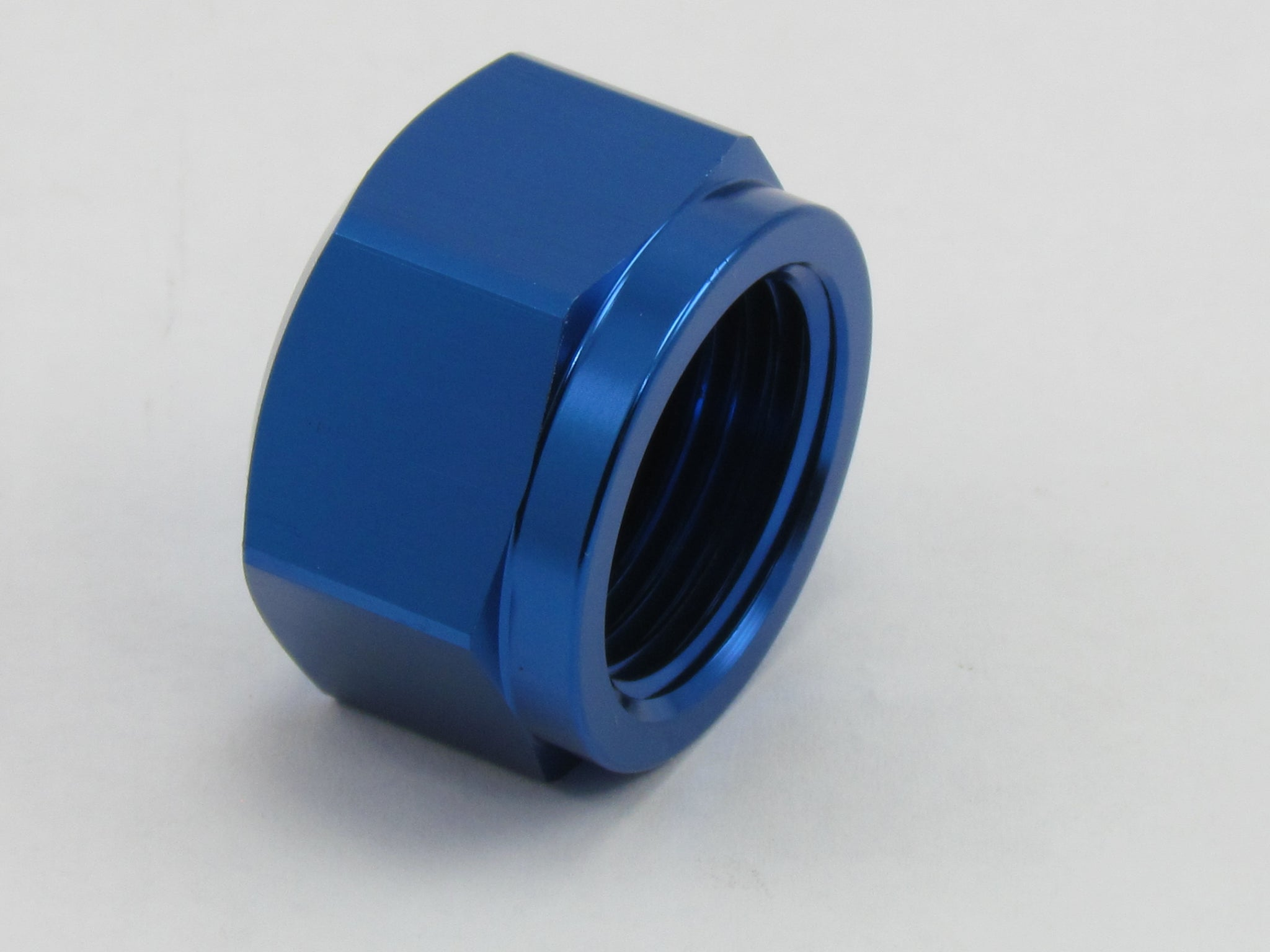 635 SERIES FEMALE AN FLARE CAP WITH O-RING ADAPTER