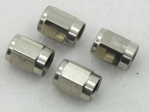 702 SERIES STAINLESS STEEL 3AN TUBE NUT - 4 Pack