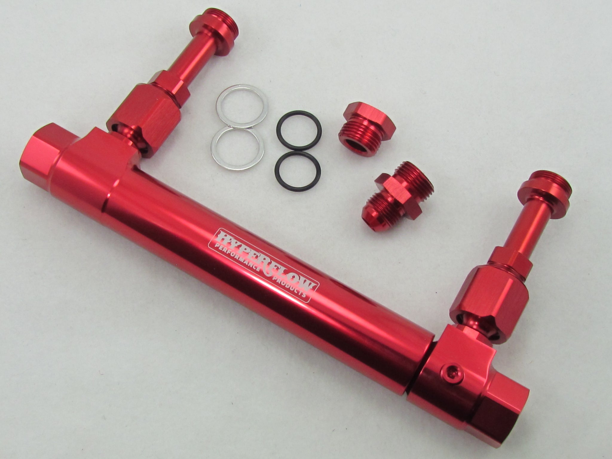 715 SERIES - 8AN BILLET ADJUSTABLE FUEL LOG
