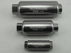 730 SERIES FUEL FILTER - AN O'RING PORTS - 100 Micron - METHANOL