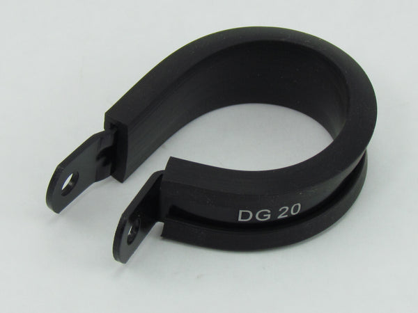 754 SERIES CUSHIONED P-CLAMPS - 10 PACK