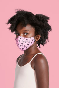 BLOCH B-Safe Childrens Ballerina Print Lanyard Face Mask