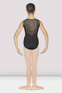 Bloch Sweetheart Neck Flock Tank Leotard