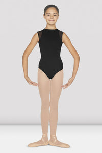 Bloch Flock Zipper Back Tank Leotard