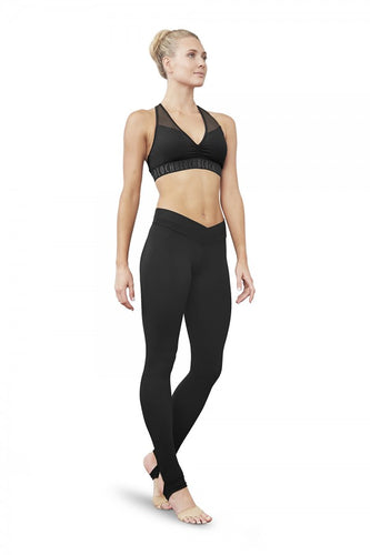 BLOCH Aalia Elastic Racer Back Crop Top