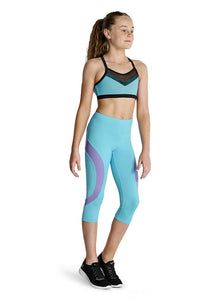 Bloch KAIA Contrast Capri Leggings