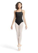 BLOCH Cross Over Keyhole Back Camisole Leotard
